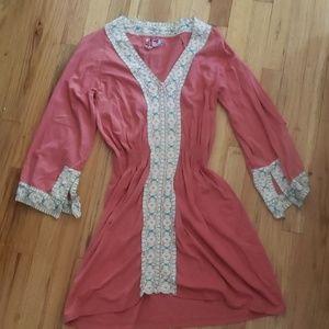 Buffalo caftan style dress